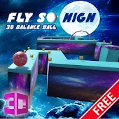 FLY SO HIGH-3D BALANCE BALL