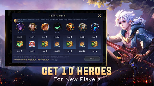 Garena AOV: Link Start APK MOD (Astuce) screenshots 5