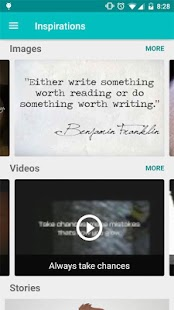 Inspirations- screenshot thumbnail