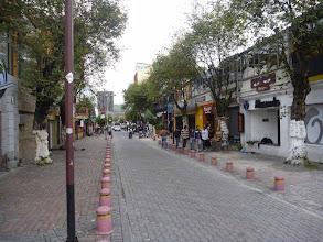 Photo: Mariscal bars street