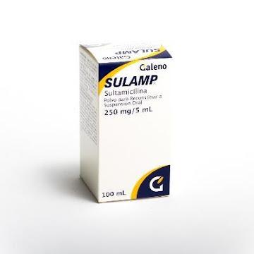 Sulamp 250Mg/5Ml. Polvo Sus.