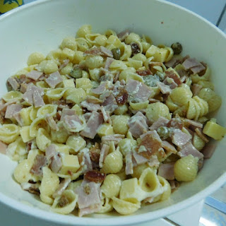Ham & Cheese Pasta Salad.