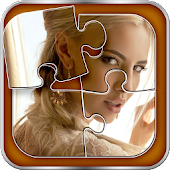 Pretty Cute Girls Faces Puzzle