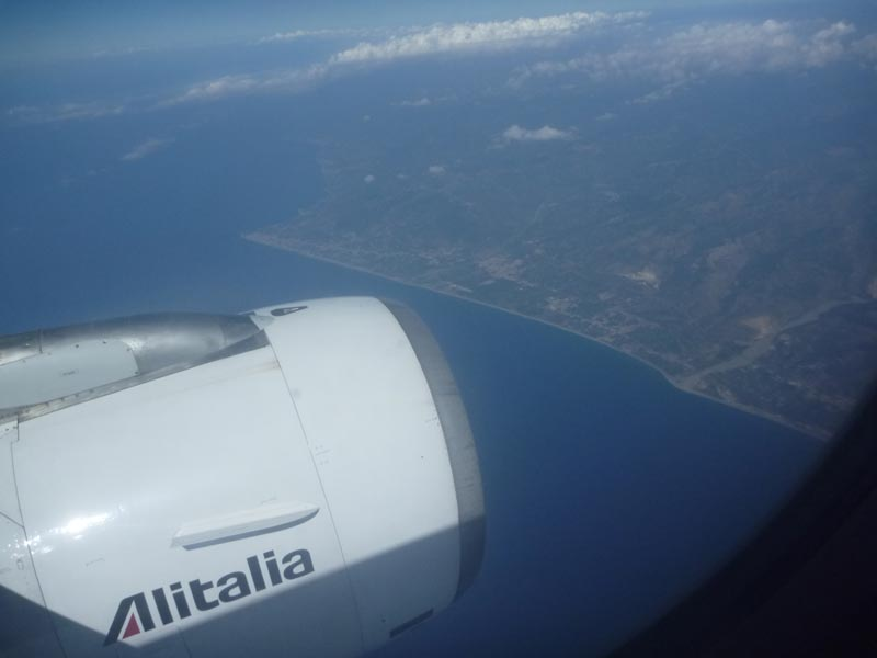 Photo: my first view of sicily