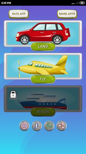 Transportations for Kids 1.0 screenshots 1