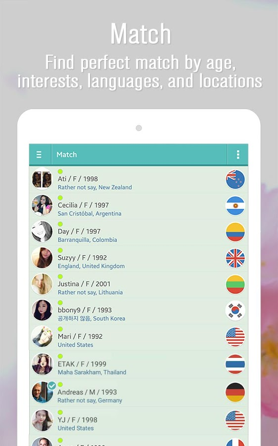 Doongle - FREE talk with Foreign Friends!- screenshot