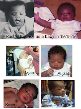Photo: Photo montage I made of my brother when he was a baby, and all four of his sons as babies.