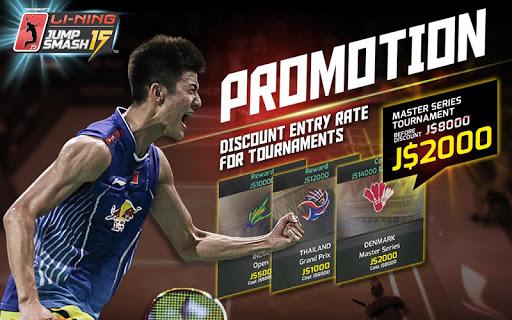 LiNing Jump Smash 15 Badminton 1.3.10 screenshots 9