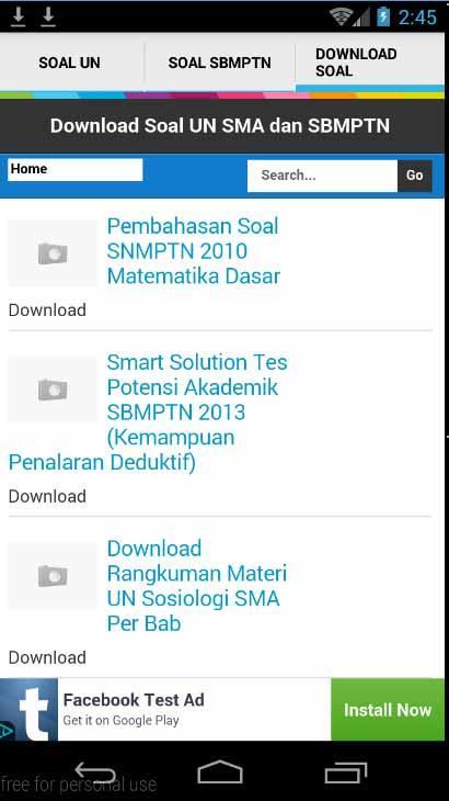 Soal Un Sma Dan Sbmptn Unbk Apl Android Di Google Play