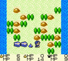 Game Boy RPGs - Dragon Warrior Monsters - trail of destruction screenshot
