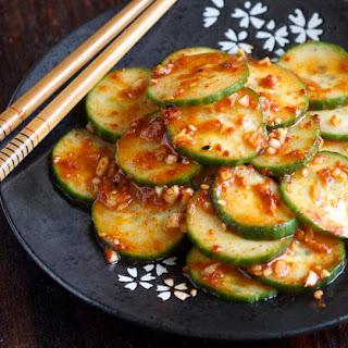 Spicy Korean Cucumber Salad (Oi-Muchim)
