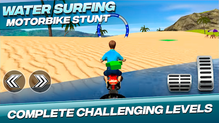 Water Surfing Motorbike Stunt APK screenshot thumbnail 2