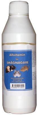 Vitaminer för Smågnagare 250ml