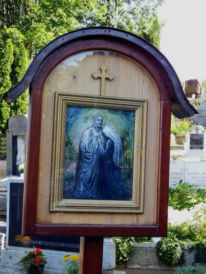 Győr-Ménfőcsanak - Szűz Mária hét öröme stációsor a csanaki temetőben