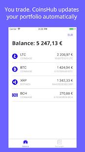 CoinsHub - Crypto Portfolio - náhled