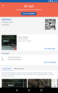 ParkWhiz: Book Parking Deals- screenshot thumbnail