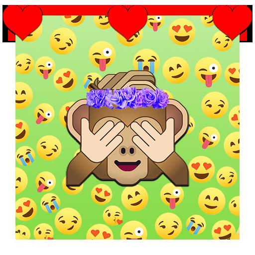 Emoji Wallpapers 🙈 🙉 🙊 Icon