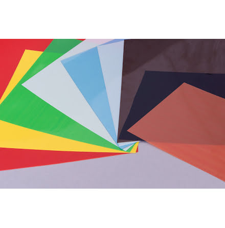 Färgkodat plastmaterial