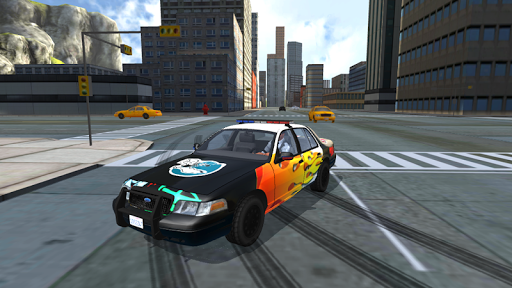 Police Car Drift Simulator 1.8 screenshots 8