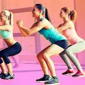 Aerobics workout weight loss icon