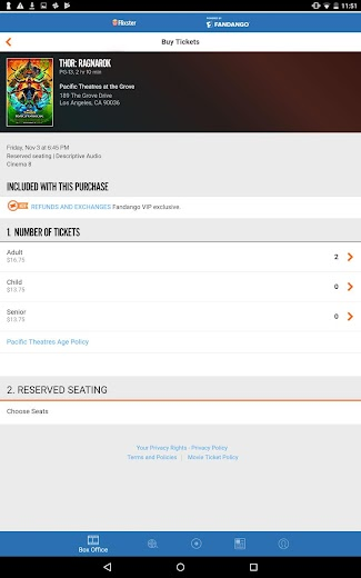 Screenshot 6 for Rotten Tomatoes's Android app'