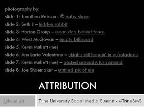 Photo: ATTRIBUTION - thanks to all of these photographers for the use of their imagery.