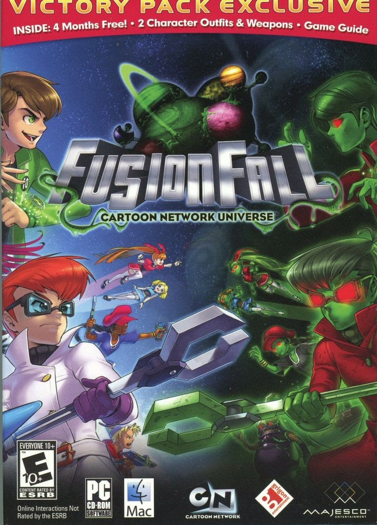 Video Game Cartoon Network Universe Fusionfall Google Arts Culture