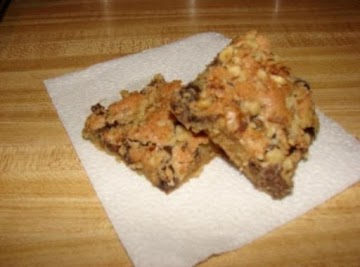 Amish Chocolate Chip Bars Recipe