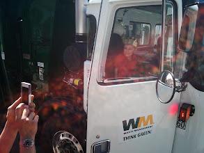Photo: A Trash Truck Birthday!