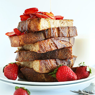 Basic Vegan French Toast.