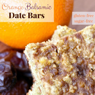 Orange Balsamic Date Bars