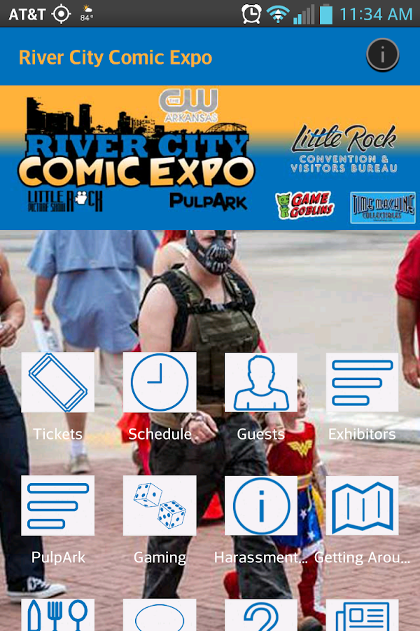 River City Comic Expo- screenshot