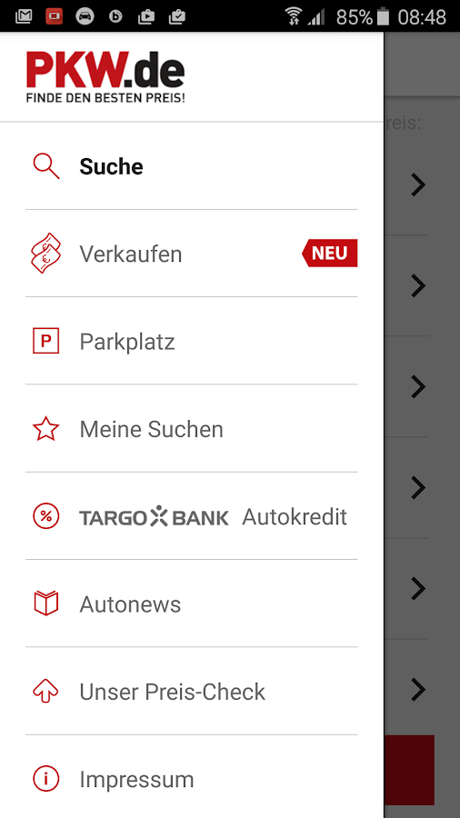 gebrauchtwagen b rse android apps on google play. Black Bedroom Furniture Sets. Home Design Ideas