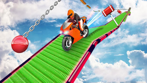 Impossible Bike Track Motor Racing 3D 1.0 screenshots 2