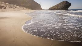 Cabo de Gata es uno de los encantos que 'Costa de Almería' está luciendo en la feria 'Expovacaciones'.