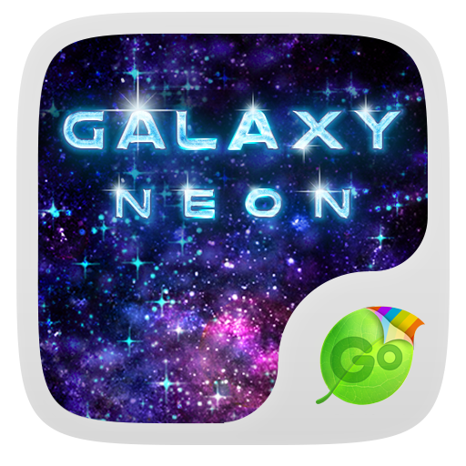 生产应用のNeon Galaxy GO Keyboard Theme LOGO-記事Game