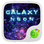 Neon Galaxy GO Keyboard Theme 1.85.5.1 Apk