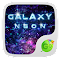 Neon Galaxy GO Keyboard Theme 1.85.5.1 Apk