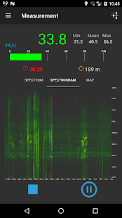 NoiseCapture Capture d'écran