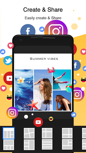 PhotoGrid: Video & Pic Collage Maker, Photo Editor 7.16 screenshots 2
