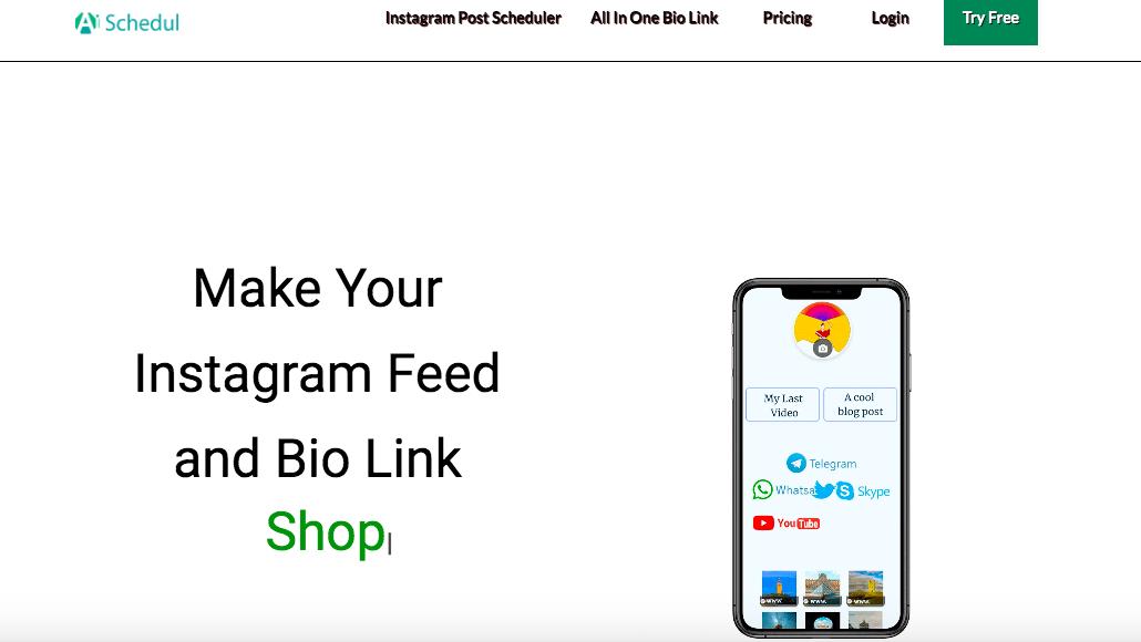 add multiple bio links by AiSchedul