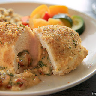 Easy Stuffed Chicken with Basil