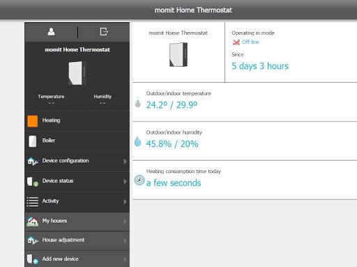 免費下載生活APP|momit Home Thermostat app開箱文|APP開箱王