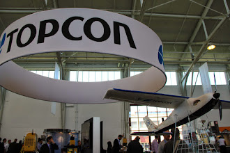 Photo: TopCon Booth at REAL2015 Main Hall