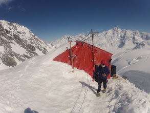 Photo: As we get ready for a visit to Europe, fresh snow in the Southern Alps of NZ means that ski touring adventures are just around the corner. With Alpinism & Ski available from last week of September.