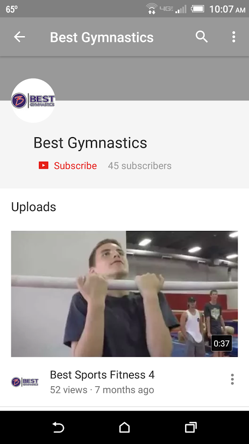 Best Gymnastics- screenshot