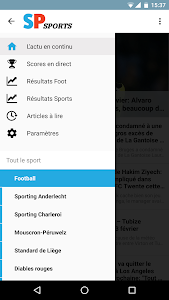 Sudpresse Sports screenshot 1