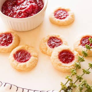 Raspberry Lemon Butter Cookies.