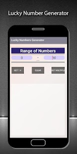 Lucky Numbers Generator - náhled