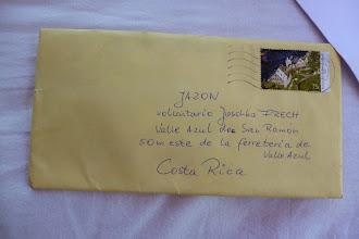 Photo: ein Brief der ankommt!